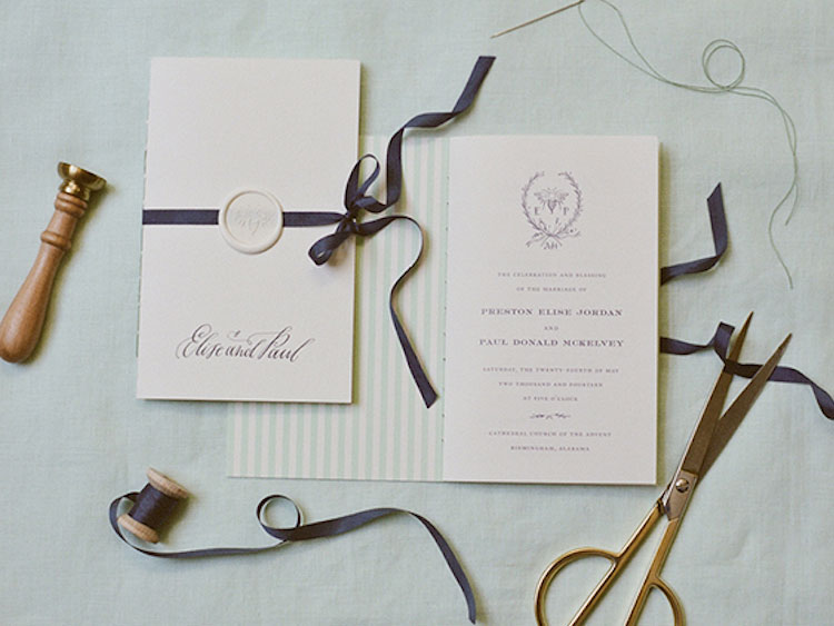 A Personalised Wax Seal For Your Wedding Invitations